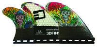 3DFins - Christian Fletcher Tri-Quad-5 Fin (Future) - Medium - Surfboard Fins