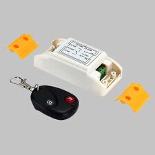AC180-240V Wireless RF Remote Control Switch Transmitter + Receiver Module Board