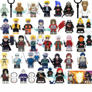 Anime Naruto Legendärer Ninja Kakashi Akatsuki Minifiguren passt LEGO Spielzeug