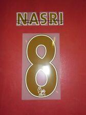 FLOCAGE OFFICIEL NASRI MANCHESTER CITY AWAY 2013/2014
