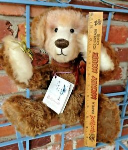 Vintage Jack Weigel Teddy Bear - Kind Hearted Harry Is A Reptile Lover!