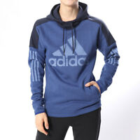 Adidas Men Hoodie Training Sport ID Logo FT Running Athletic Workout New DM2805