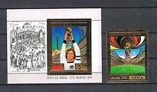 Dahomey 1974 Football/World Championship/F.Beckenbauer (Michel 610 + Bl.55) MNH