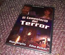 EL CEMENTERIO DEL TERROR(HUGO STIGLITZ & EDNA BOLKAN) Dvd Spanish Horror 🎥