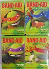 4 Boxes of Teenage Mutant Ninja Turtles Kids Band-Aids 20 Per Box Asst Size