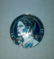 Star Wars Celebration Princess Leia Carrie Fisher Memorial 2016 Challenge Coin