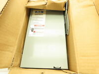 Cutler Hammer Eaton Fusible Safety Disconnect Switch 30 Amp 240V 3 Ph Rainproof