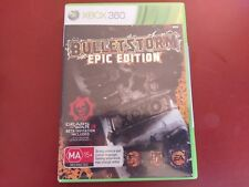 BULLETSTORM EPIC EDITION- Xbox 360 Game Complete - FREE POSTAGE