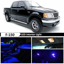 16x Blue Interior LED Lights Package Kit for 1997-2003 Ford F150 F-150