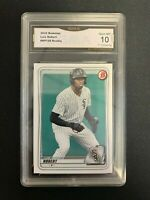 2020 Bowman Chrome Luis Robert #BCP150 RC - GRADED 10 - GEM MINT - GMA