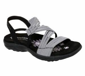 Skechers Modern Comfort Sandals REGGAE SLIM SKECH APPEAL Sandalen Women Schwarz