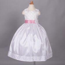 Vestidos de dama de honor blanco