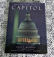United States Capitol by Fred Maroon SIGNED by Fred Maroon, Suzy Maroon - Senate