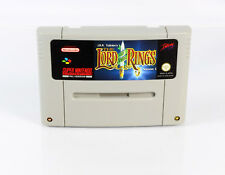 The Lord of the Rings (Super Nintendo/SNES) * módulo top * * * PAL