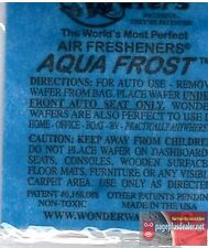 16- Wonder Wafers AQUA FROST (same as Blue Ice) Scent Air Freshener Home Auto