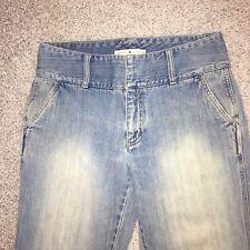 Women 8 Tommy Hilfiger Vintage MOM jeans High Waist Denim Jeans acid stone wash