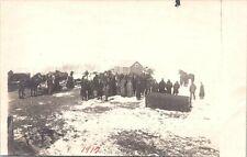 RPPC Minnesota (?) Auction Scene at Farm 1912