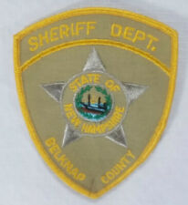 Belknap County New Hampshire Sheriff's Department Patch