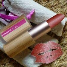 Zao MAKE-UP Pearly Lipstick 404 chiarore Rossetto Naturkosmetik bio bambusbox