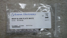 Extron MAAP Blank Plate White 70-315-22 New
