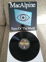 "TONY MACALPINE EYES OF THE WORLD LP 12"" VINYL VINILO VERTIGO SPANISH ED VG/VG"