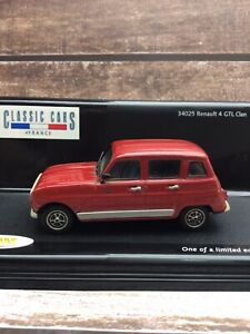 Vitesse 1/43 Renault 4 GTL - Red - Boxed