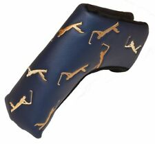 THE PLAYERS Championship STRETCH FIT Blade PUTTER COVER Navy/Gold
