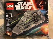 New LEGO Star Wars FIRST ORDER STAR DESTROYER 30277 56 pcs TFA