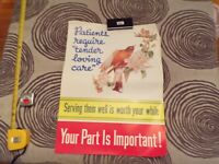 Vintage Poster Patients Require Tender Loving Care