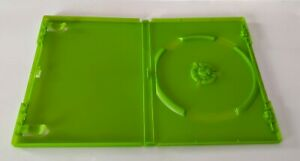 OEM Microsoft XBOX Original Opaque Green Empty Replacement Game Disc Case Box
