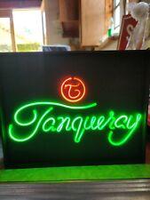 """TANQUERAY"""" LIQUOR NEON SIGN"""