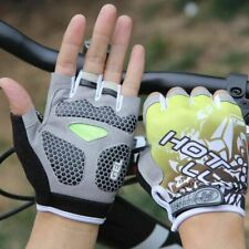 Bicycle Gloves Short Half Finger Anti Slip Breathable Outdoor Sports Pads Bike