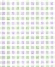 Morado y Verde a Cuadros / Cuadros Papel Pintado 5810491
