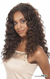 "Freetress Synthetic Long Curly Wavy Hair Braid Crochet LatchHook- Cozy Deep 20"""