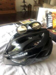 Bontrager Bike Helmet with Visor And Glasses Part#501174 54-60 Cm. Size M