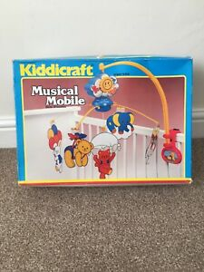 Vintage Kiddicraft 1987 Musical Baby Cot Mobile - in Box
