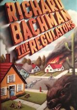 💀 The Regulators Richard Bachman HardCover Book True First DJ VF Stephen King