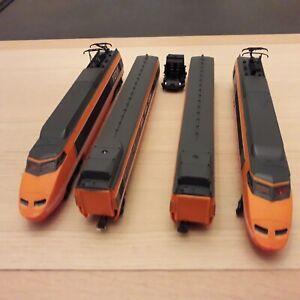 Rame TGV Orange N°16 HO 380 km / h complète avec éclairage avant arrière