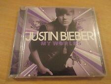 cd album justin bieber my world