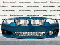 BMW 4 SERIES M SPORT F32 F33 F36 2013-2017 FRONT BUMPER COMPLETE GENUINE [B557]
