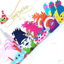 Brand New, Trolls,  Personalised Party Bags, Poppy & Branch Favours, Loot Bags