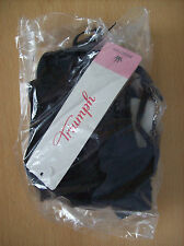 Bra Triumph True Curves Forever WHP Padded Wired Bra Black Size 32 A New + Tags