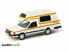 Autocult 1:43  Audi 100 Type 44 Bischofberger, white,Germany,1985