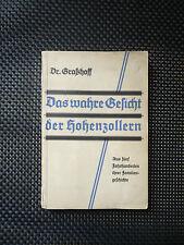 Das Wahre Gesicht Der Hohenzollern - Aus Fünf Jahrhunderten Ihrer Familiengeschi