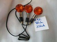 E91. Suzuki Vs Model Intruder Freccia Posteriore Destra + Sinistra Lampeggiatore