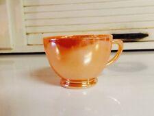 Fire King Peach Lustre Coffee Cups