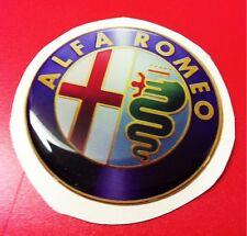1 Adesivo Resinato Sticker 3D Alfa Romeo 40 mm