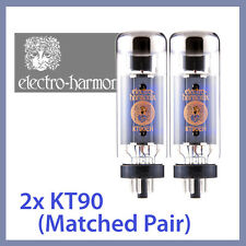 2x Electro Harmonix KT90 EH KT90EH Power Vacuum Tubes, Matched Pair TESTED