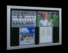 LEEDS UNITED 1971 FAIRS EURO CUP FINAL LTD Nod FRAMED+EXPRESS GLOBAL SHIPPING