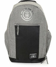 MEN'S GUYS  Element Sparker Heather Grey 30L Backpack  SCHOOL BAG NEW $55